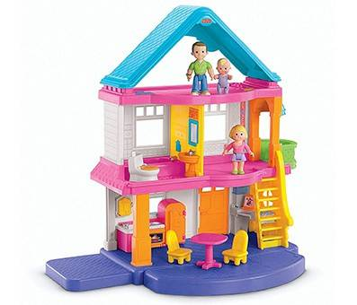 Product Image Of Fisher Price My First Dollhouse
