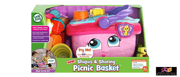 image of shapes and sharing toy package