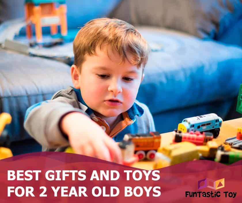 Featured image of boy with brown hair play with toys