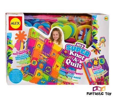Product image of ALEX Toys Craft Super Knot A Quilt