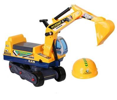 Product image of COLORTREE Ride-on Excavator Pretend Play Construction Truck