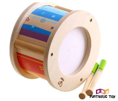 Product image of Hape Little Drummer Kids Wooden Drum