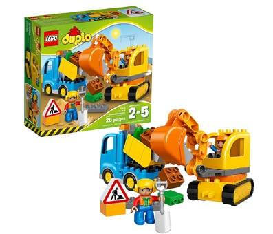 Product image of LEGO DUPLO Town Truck & Tracked Excavator