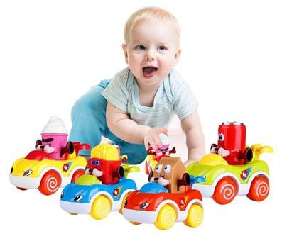 Product image of LUKAT Cars Toys - Push and Go Friction Powered VehiclesProduct image of LUKAT Cars Toys - Push and Go Friction Powered Vehicles