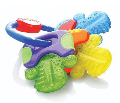 Product image of Nuby Ice Gel Teether Keys