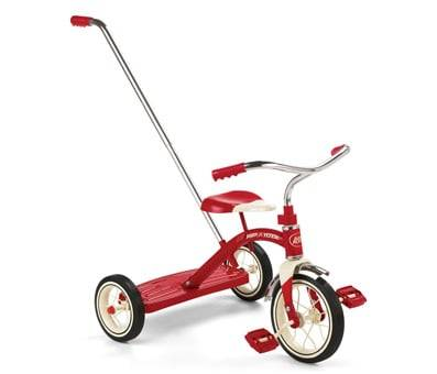 Product image of Radio Flyer Classic Tricycle with Push Handle