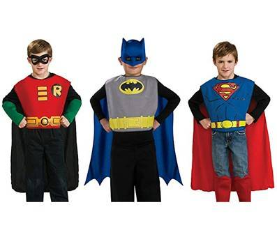 Product image of Rubies DC Comics Action Trio Child Costume Kit