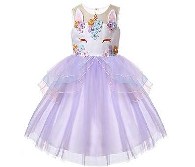 Product image of TTYAOVO Unicorn Princess Dress