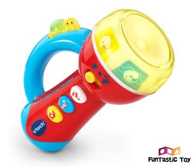 Product image of VTech Spin & Learn Color Flashlight Red