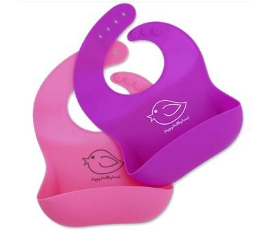Product image of Waterproof Silicone Bib Food Crumb Catcher