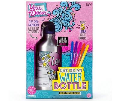 Product image of Your Decor by Horizon Group - Color Your Own Water Bottle Kit