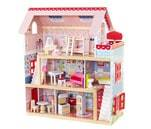 Small Product image of KidKraft Chelsea Doll Cottage with Furniture