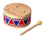 Small Product image of Plan Toy Solid Wood Drum