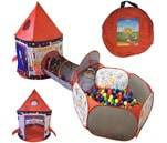 Small Product image of Playz 3pc Rocket Ship Astronaut Tent