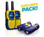 Small Product image of USA Toyz Kids Walkie Talkies with Binoculars
