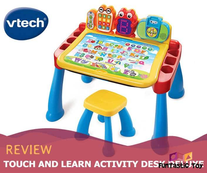 featured image of touch and learn activity desk