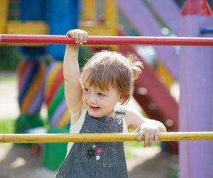 image of girl at the playground