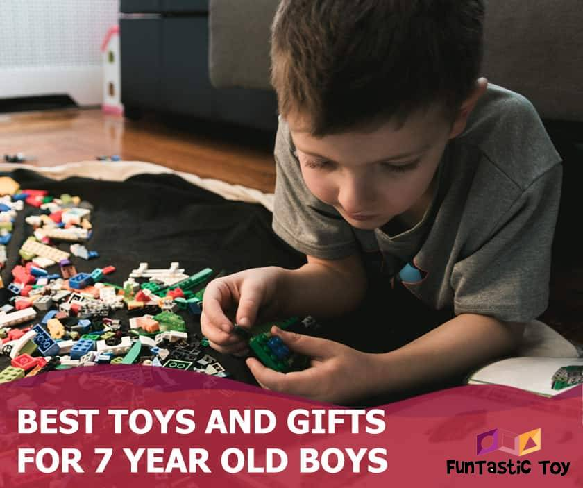 Featured image of 7 year old boy and lego set