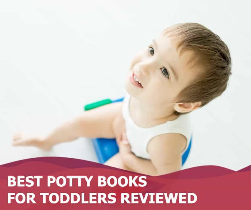 Featured image of adorable toddler boy on the potty