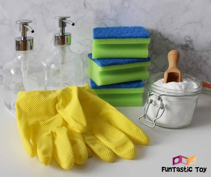 Image of cleaning gloves