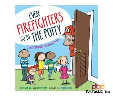Product image of Even Firefighters Go to the Potty by Wendy Wax and Naomi Wax