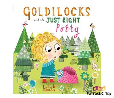 Product image of Goldilocks and the Just Right Potty, by Leigh Hodgkinson