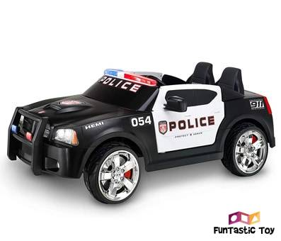 Product image of Kid Trax Charger Police Car
