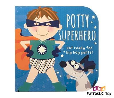 Product image of Potty Superhero Get ready for big boy pants