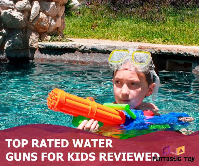 Featured image of boy with water gun in pool