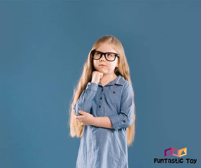 Featured image of little girl with glasses thinking