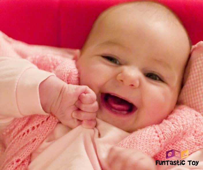 Image of happy smiling baby
