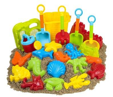 Product image of 23pc Kangaroo Beach Toys Set