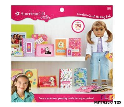 Product image of American Girl Crafts Greeting Card Activity Kit for Girl