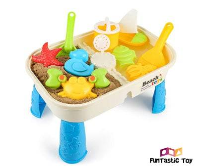 Product image of Beach Toy Set with Activity Table