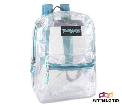 Product image of Clear Backpack With Reinforced Straps