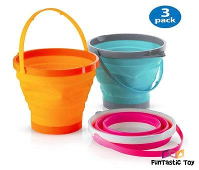 Product image of Silicone Collapsible Buckets
