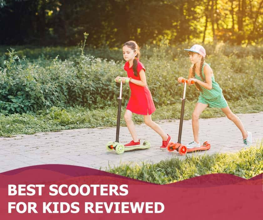 Featured image of two girls in park on scooters