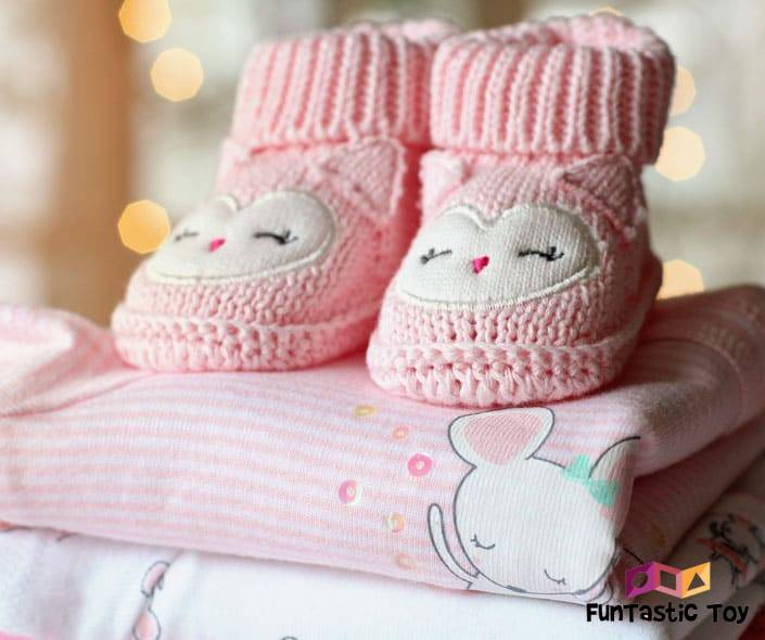 Image of cute baby girl clothes