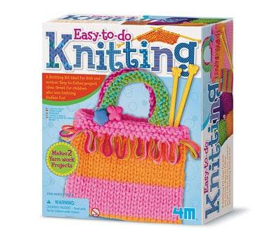 Product image of 4M Knitting Art Kit