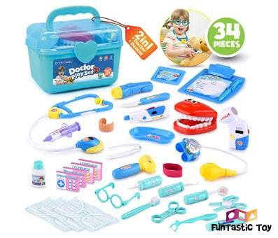 Product image of BRITENWAY Educational Medical Pretend Play Toy Set