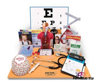 Product image of Ben Franklin Toys Doctor Lab Pad Biology Kit