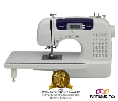Product image of Brother CS6000i Computerized Sewing Machine
