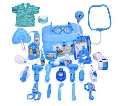 Product image of FUN LITTLE TOYS Doctor Set with Doctor Costume