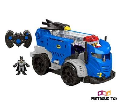 Product image of Fisher-Price Imaginext DC Super Friends RC Mobile Command Center