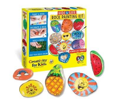 Product image of Hide and Seek Rock Painting Kit