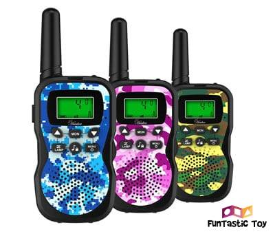Product image of Huaker Kids Walkie Talkies with Flashlight and LCD Screen