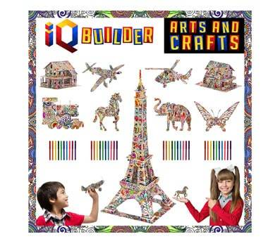 Product image of IQ BUILDER Fun Creative DIY Arts and Crafts KIT
