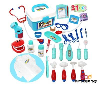 Product image of JOYIN Pretend-n-Play Medical Set