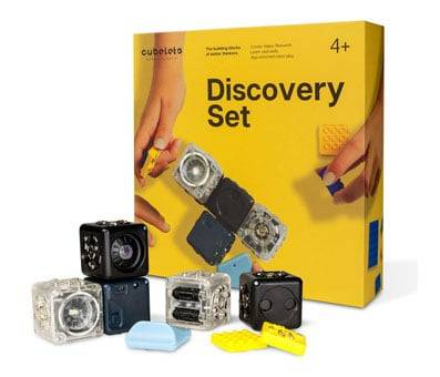 Product image of Modular Robotics New Cubelets Discovery Set