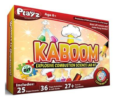 Product image of Playz Kaboom! Explosive Combustion Science Lab Kit
